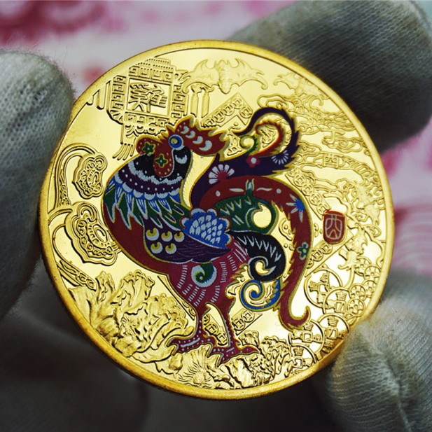 Gold-Chinese-Zodiac-font-b-Anniversary-b-font-Coins-Year-of-the-Rooster-Souvenir-Coin-Replica.jpg